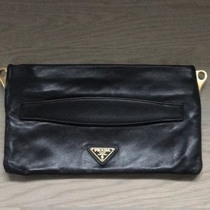 Authentic Prada clutch